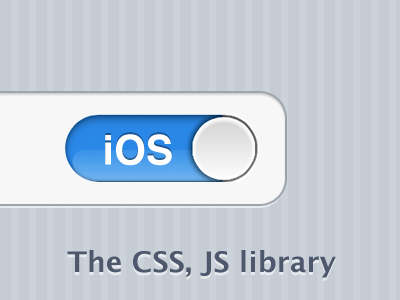 iOS.css Library resolution independent ios web app library css3 css only