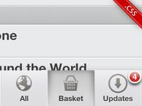 iOS.css, new theme: Music