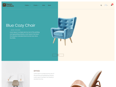 Peera's Furniture - A Furniture eCommerce Contentder Theme