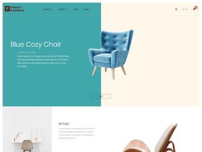 Peera's Furniture - A Furniture eCommerce Contentder Theme
