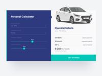 Daily UI Design Challenge #004 — Calculator