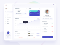 Hello Dribbble - payment dashboard transferwise paypal statistics activity invoice transaction invite balance welcome hello dribbble mockup clean dashboard design ios app minimal web landing page ui
