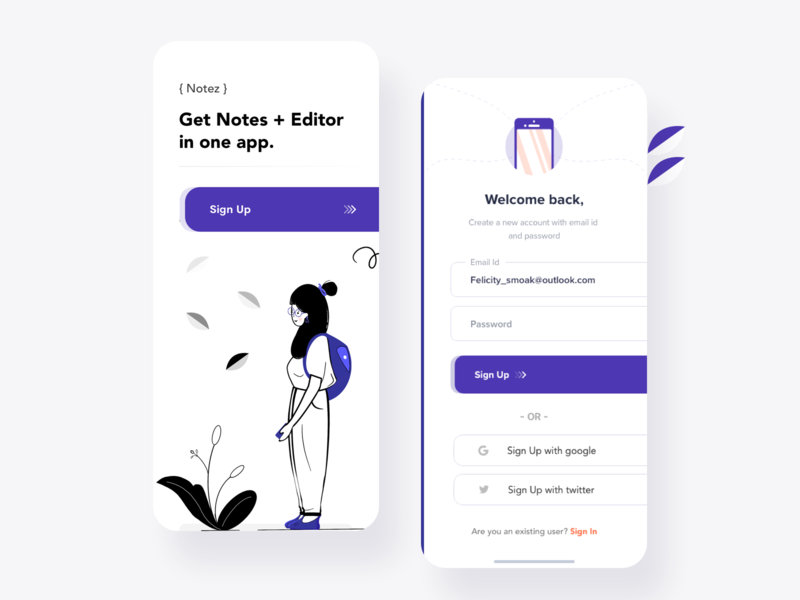 Signup Form xd design dribbble playoff form signup xd ux new mockup gradient dashboard design ios app minimal web landing page ui