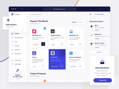 Product Design(Web) community designer jobs pricing product cards new mockup clean design ios app web minimal landing page design dashboard ux ui landing page