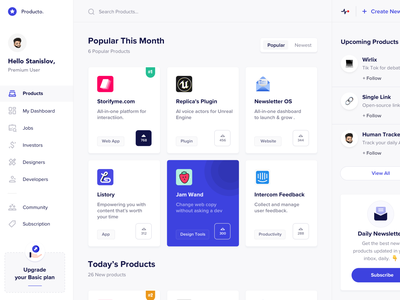 Product Design(Web) community designer jobs pricing product cards new mockup clean design ios app web minimal landing page design dashboard ux ui landing page