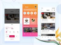 House rental app IphoneX