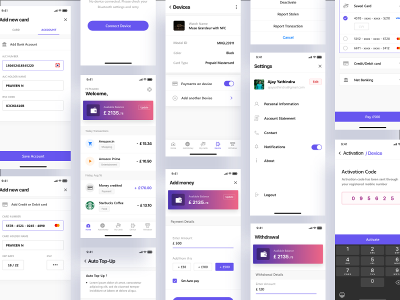 Payment app screens dribbble invite invite transaction money app cost payment app money transfer uiux wallet app payment money landing page web ui