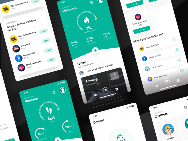 Muse AI app Interface finance nutrition fitness artificial intelligence ai colors iphonex trend ux illustration mockup new dashboard clean design ios minimal app web ui
