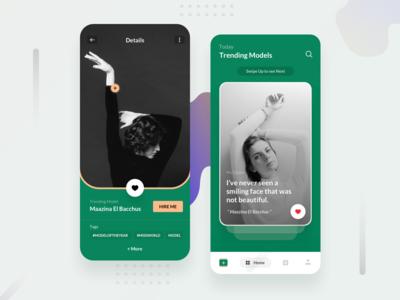 Model's app Interface