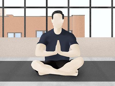 Yoga! illustrator illustration yoga