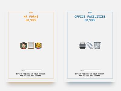 GO/KRK Posters Series (1/3)