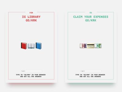 GO/KRK Posters Series (2/3)
