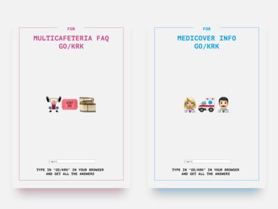 GO/KRK Posters Series (3/3)