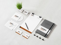 Logo, Business card and Letterhead design