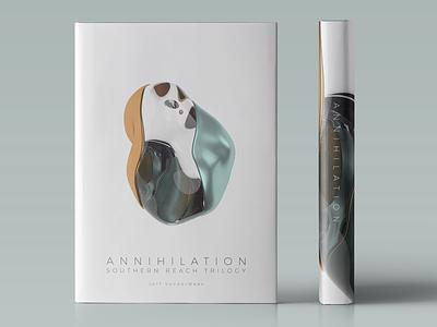 Annihilation abstract design abstract art abstract 3dmodel 3ddesign 3d bookart bookdesign coverdesign annihilation dustjacket jacket dust coverart cover bookcover graphicdesign graphic design book