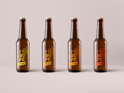 Brand identity for IRUPE / Handcrafted beer