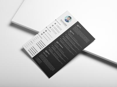 Black & White Resume