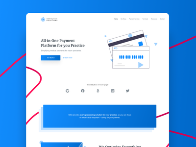 Orbits Payments payment processing payment app payment website made with figma figma ui ui design web design