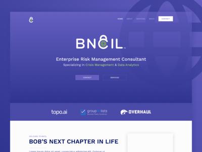 BNCIL –Landing Page