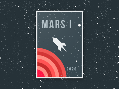 MARS ONE 2020 SPACE PATCH