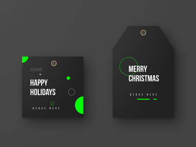 Gift Tags for Designers package design packaging warmup illustration typography design weeklywarmup dribbbleweeklywarmup gift holiday card holiday dribbble branding design branding