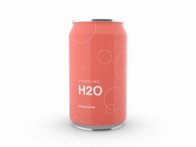 Fictional Carbonated Beverage - Pantone Sparkling H2O