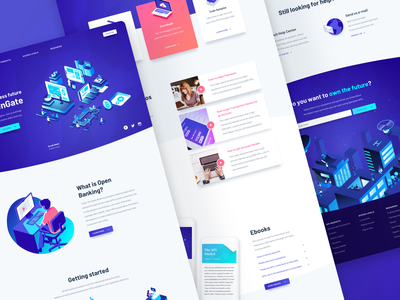 Sibs Marketplace consultancy sibs isometric psd2 open banking api banking vector icon illustration deloitte adobe ux ui portugal digital design colors