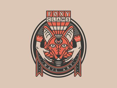 Foxy Claws Logo
