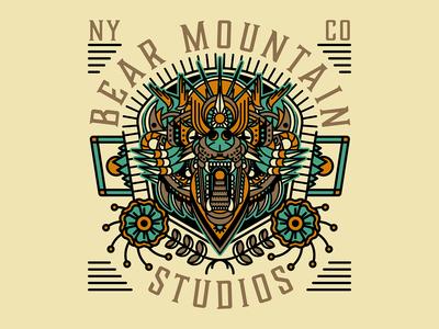 Bear Mountain Studios - Bear Head