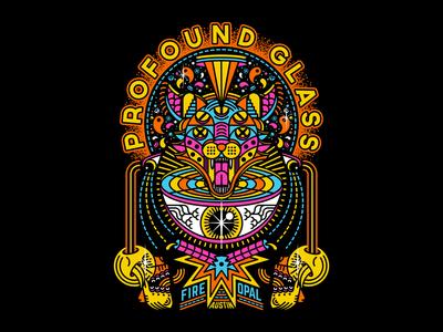 Profound Glass - Black Cat