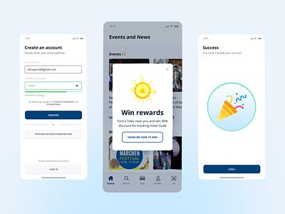 Fairy Tale Route App | IOS application design mobile application ux design iosapp mobileapp uimobile ios app mobile app mobile design ui design simple ui creative clean design