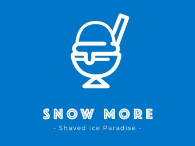 Shaved Ice Logo (1) branding vecor typograpgy logo sketch illsutration