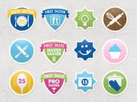 First Taste Badges