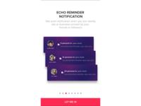 Echo Reminder