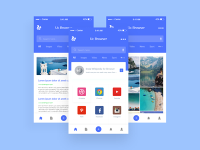 UC Browser Redesign