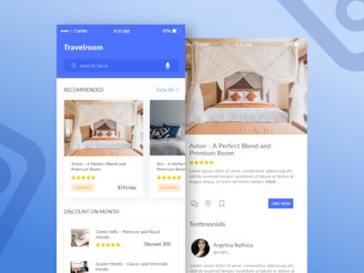 Travelroom Mobile Application