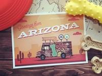 Mobile Tour Announcement Postcard