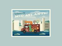 Mobile Tour Postcard