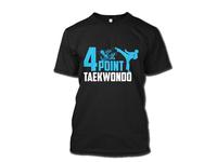 Four Point Taekwondo T shirt Design
