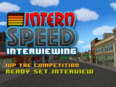 Intern Speed Interviewing