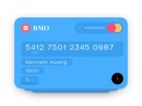 CreditCard Input Form Concept