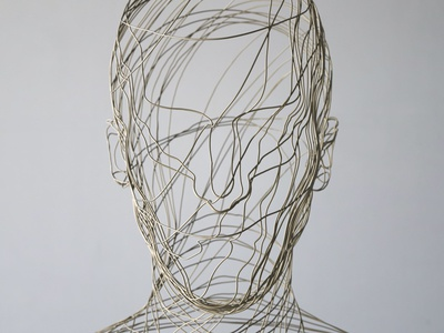 Intangible   Wire Mess [17.06.04] illustration installation animation design sculpture art render cg 3d zbrush octane houdini