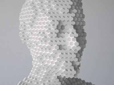 Intangible   Hexarhombic Dodecahedron Array [17.06.07] illustration installation animation design sculpture art render cg 3d zbrush octane houdini