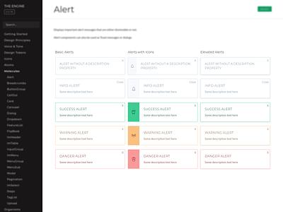 Alert Component vue design system alerts alert
