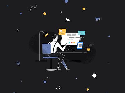 Redesign jamstack design system pwa illustration