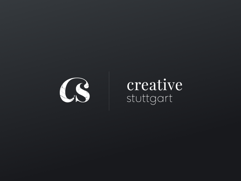 creative community logo concept serif typography texture marble personal project community creative logotype clean concept logo minimal