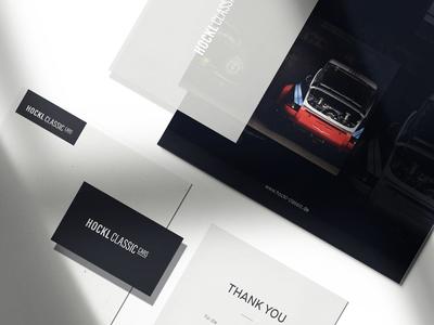 Hockl Classic Cars Corporate Design