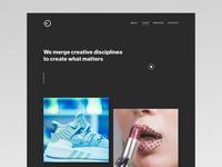 Portfolio theme wip theme design portfolio theme animation ui website webdesign web black clean minimal design