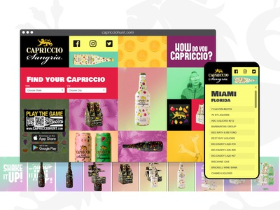 Capriccio Hunt - Store locator v2