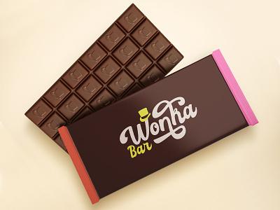 Wonka Bar rebound weekly warm-up weekly challenge chocolate packaging golden ticket willy wonka chocolate bar chocolate